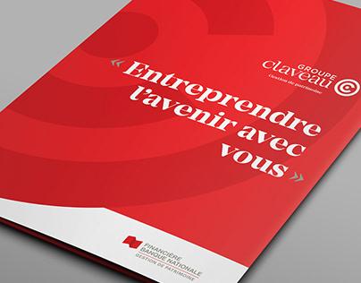 Branding Groupe Claveau