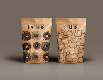 Branding for homemade mushroom farm