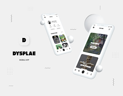 DYSPLAE - Art Gallery App