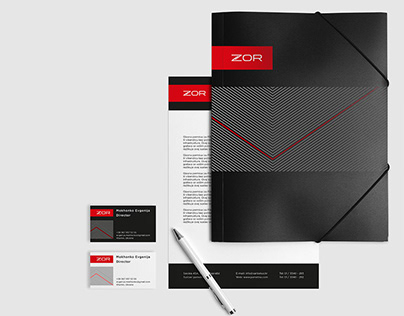 Visual identity of the security device Zor