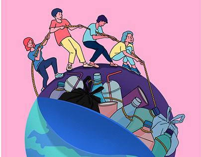 Save the World (environmental poster)