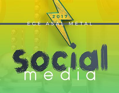 Social Media - Ege Asal Metal