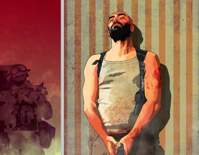 Videogames and books illustrations