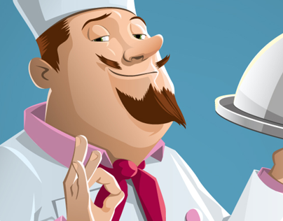 Vector Chef Illustration