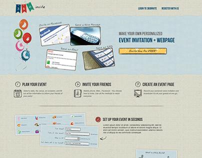 360 Invite website design & development