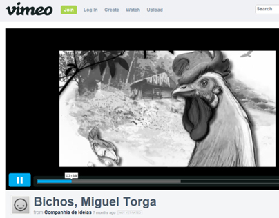 Illustration for documentary _ author Miguel Torga