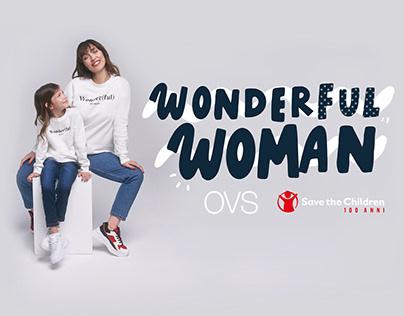 OVS + Save the Children | Wonder(ful) Woman