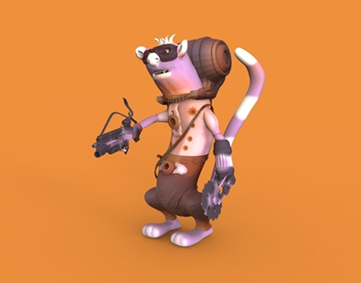 Benjamin modeling c4d and zbrush