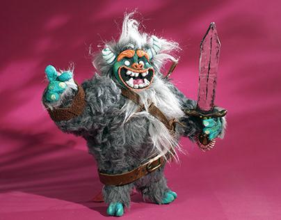 Killian, Stop Motion Puppet