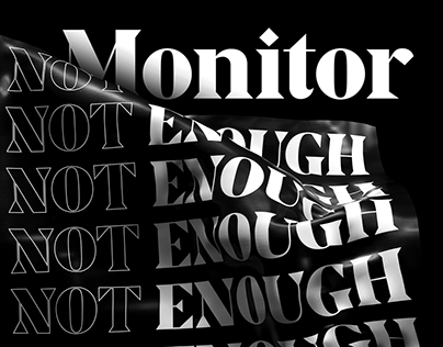 Monitor Display — Typeface