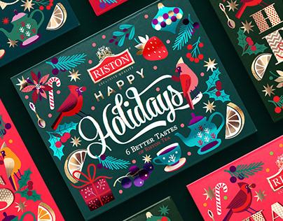 Christmas Edition Tea Packaging