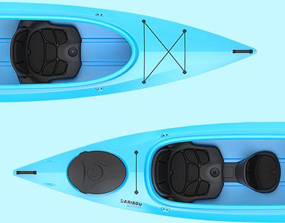 CARIBOU - Touring kayak