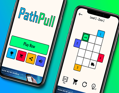 PathPull Mobile Puzzle Game App