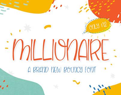 Free Millionaire Script Font