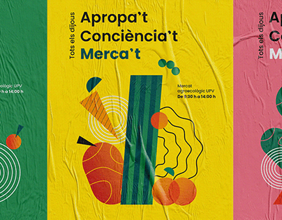 Mercat Agroecològic UPV | Visual Identity