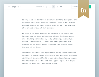 Snipsl Authoring App