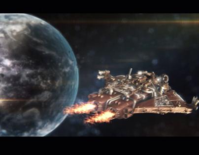 Space Scene + Breakdown