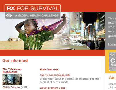 Rx for Survival on PBS.org
