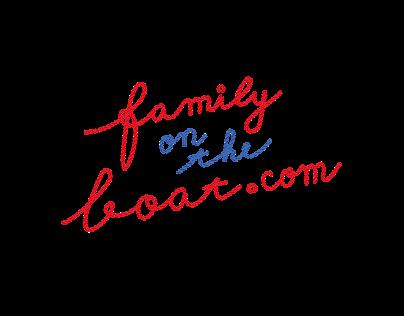 Family on The Boat logo