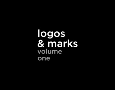 Logos & Marks Vol 01