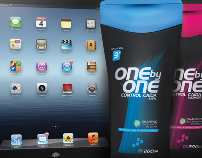 One by One Shampoo - Vinyl banners design