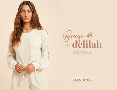 Breeze and Delilah | Branding