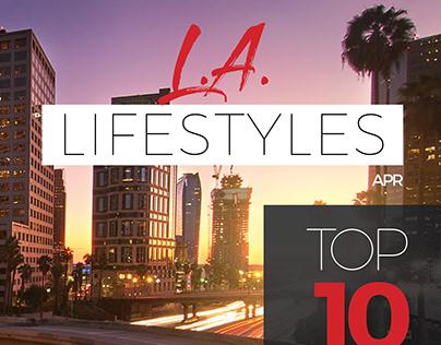 LA Lifestyle magazine mockup