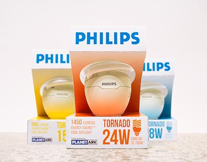 Philips Energy Saving Light Bulb Packaging