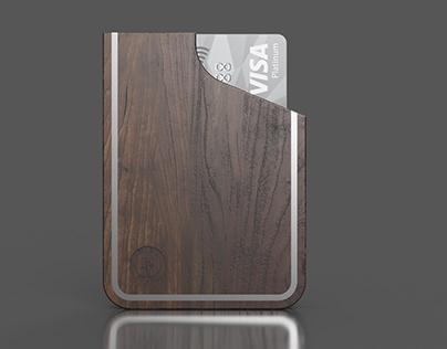 Woodwhole - Aegis card holder