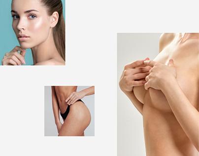 Business web site — plastic surgeon Sajienko V.