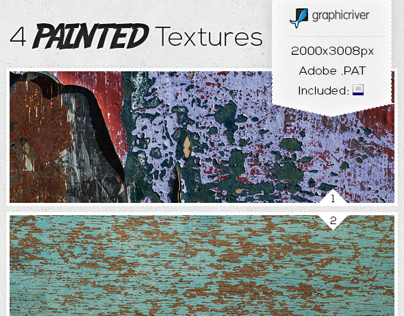 Texture Pack - 4 Painted Surfaces.