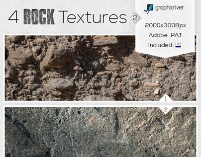 Texture Pack - 4 Rock Textures #2
