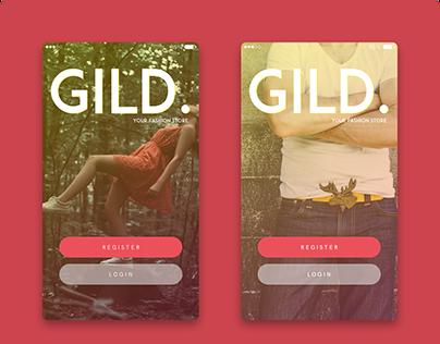 Gild App Design