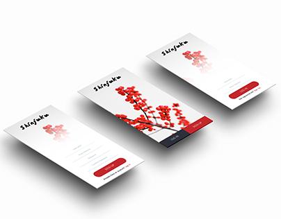 Showcase - Shinjuku Mobile UI Kit (WiP)
