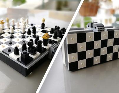 Tiny LEGO Chessboard
