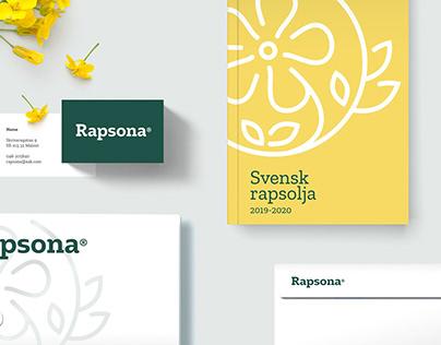 Rapsona - Brand identity & packaging design