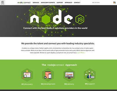 NodeJSConnect.com Web Design Project
