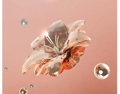 Digital Illustration-Nature fused whit technology