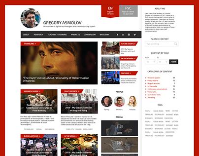 Gregory Asmolov Personal Site