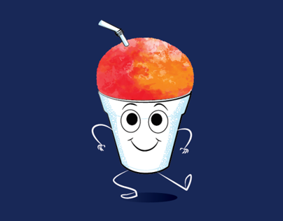 ESPjr Snow cone Character