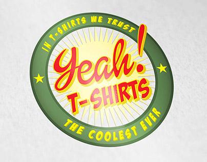 Diseño de Isologo: Yeah! T-Shirts