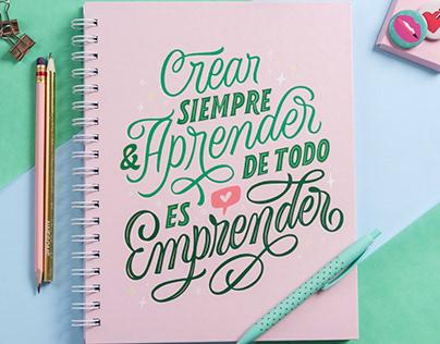 Crear, aprender, emprender