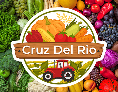 Logo for organic farming products