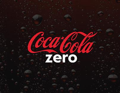 Coca-Cola Zero en digital.