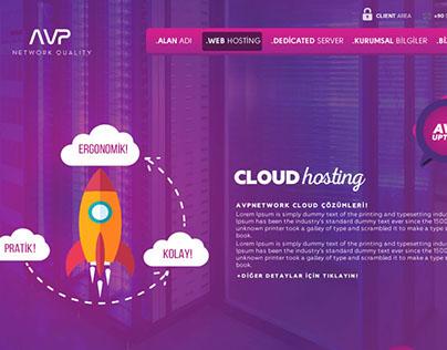 AVP Network - UI/UX Design