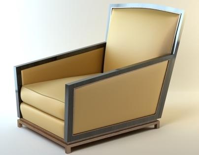 Luxury bronze sofa