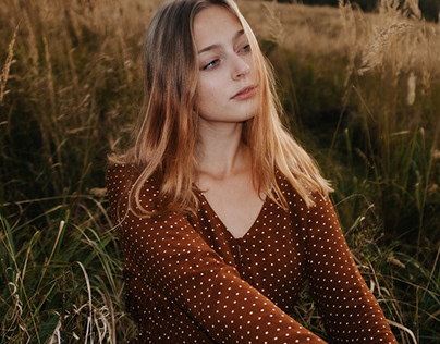 sunset in the woods | kamila