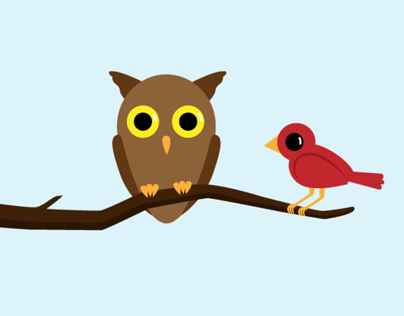 Night Owl and Early Bird Animation