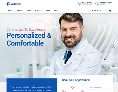 Create a Dental Website with Wordpress