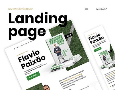 Landing Page - Flavio Paixão
